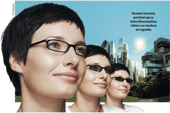 3edeb037b Inovação Uniemp - Novidade no setor são as lentes fotocromáticas